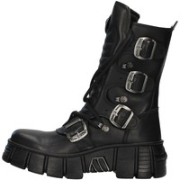 Cipők Csizmák New Rock WALL028N BLACK
