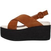 Cipők Női Szandálok / Saruk Tres Jolie 2801/MONY BROWN
