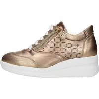 Cipők Női Rövid szárú edzőcipők Melluso R20228 GOLD