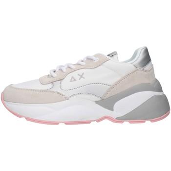 Cipők Női Rövid szárú edzőcipők Sun68 Z30220 WHITE