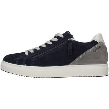 Cipők Férfi Rövid szárú edzőcipők IgI&CO 5138900 BLUE