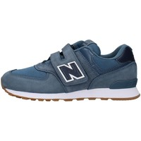 Cipők Fiú Rövid szárú edzőcipők New Balance YV574PRN NAVY BLUE
