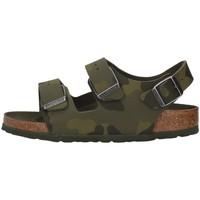 Cipők Fiú Szandálok / Saruk Birkenstock 1014590 GREEN