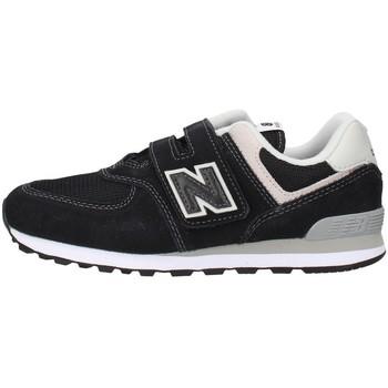 Cipők Fiú Rövid szárú edzőcipők New Balance YV574GK BLACK