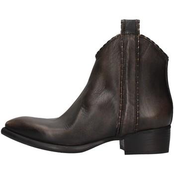 Cipők Női Bokacsizmák Zoe NEWTOP02/P BROWN