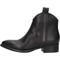 Cipők Női Csizmák Zoe NEWTOP02/P BLACK