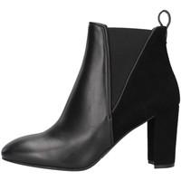 Cipők Női Bokacsizmák Albano 1055 BLACK