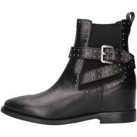 Cipők Női Bokacsizmák Albano 1222 BLACK