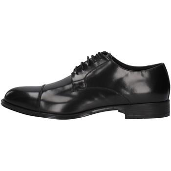 Cipők Férfi Oxford cipők Franco Fedele 6065 BLACK