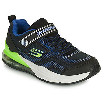 Cipők Gyerek Rövid szárú edzőcipők Skechers SKECH-AIR BLAST-TALLIXEEL A Kék