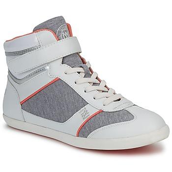 Cipők Női Magas szárú edzőcipők Dorotennis MONTANTE VELCRO Szürke