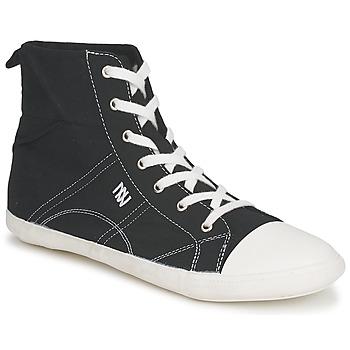 Cipők Női Magas szárú edzőcipők Dorotennis MONTANTE LACET INSERT Fekete