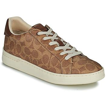 Cipők Női Rövid szárú edzőcipők Coach LOWLINE Barna