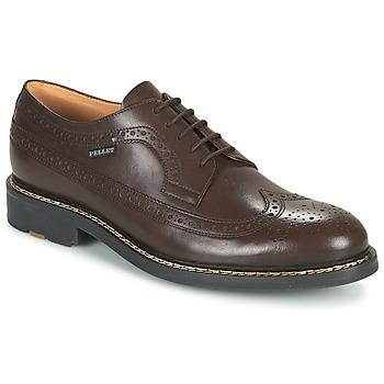 Cipők Férfi Oxford cipők Pellet NORMAN Barna