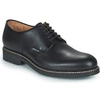 Cipők Férfi Oxford cipők Pellet Nautilus Fekete