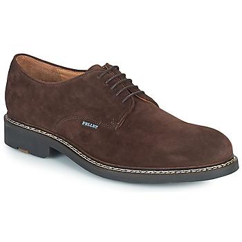 Cipők Férfi Oxford cipők Pellet Nautilus Barna