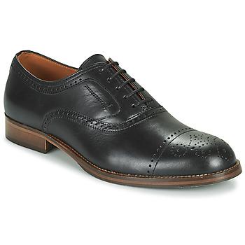 Cipők Férfi Oxford cipők Pellet ABEL Fekete