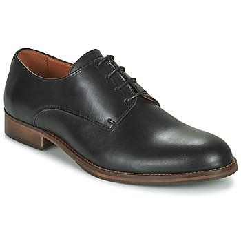 Cipők Férfi Oxford cipők Pellet ADRIEN Fekete