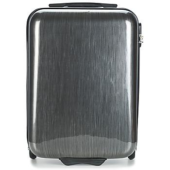 Táskák Keményfedeles bőröndök David Jones RODEMAP 32L Szürke