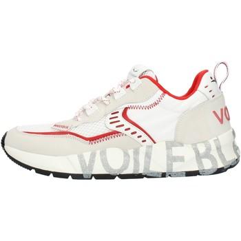 Cipők Férfi Rövid szárú edzőcipők Voile Blanche 001201592601 White and red