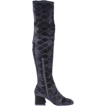 Cipők Női Combcsizmák Apepazza BJ801 Fekete