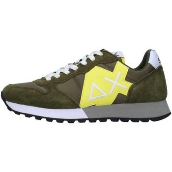 Cipők Férfi Rövid szárú edzőcipők Sun68 Z31110 GREEN