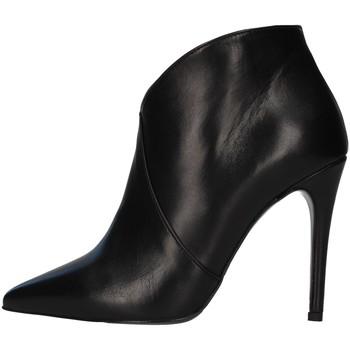 Cipők Női Bokacsizmák Paolo Mattei 14010 BLACK