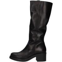 Cipők Női Combcsizmák Unica 10187 BLACK