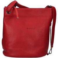 Táskák Női Válltáskák Bruno Rossi R186 RED