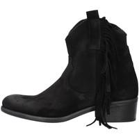 Cipők Női Bokacsizmák Zoe VALENCIA08 BLACK