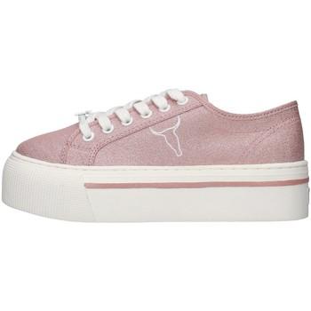 Cipők Női Rövid szárú edzőcipők Windsor Smith WSPRUBY PINK