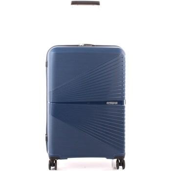 Táskák Keményfedeles bőröndök American Tourister 88G041002 NAVY BLUE