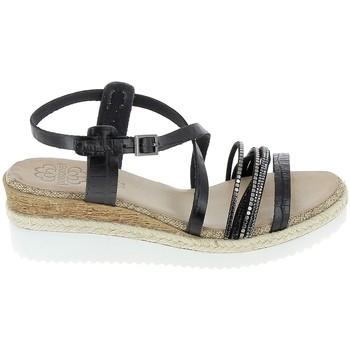 Cipők Női Szandálok / Saruk Porronet Sandale F12632 Noir Fekete