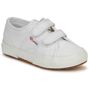 Cipők Gyerek Rövid szárú edzőcipők Superga 2750 STRAP Fehér
