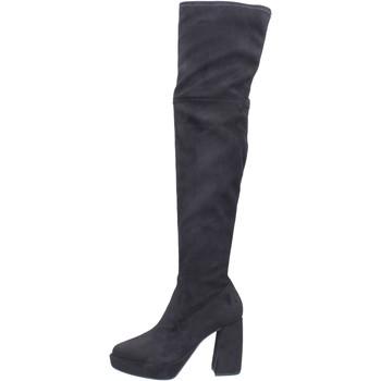 Cipők Női Combcsizmák Elvio Zanon BJ810 Fekete