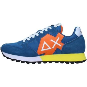Cipők Férfi Rövid szárú edzőcipők Sun68 Z31110 BLUE