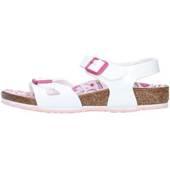 Cipők Lány Szandálok / Saruk Birkenstock 1018864 WHITE