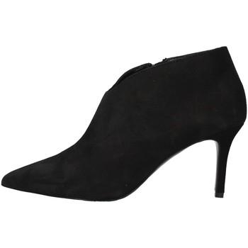Cipők Női Bokacsizmák Paolo Mattei 1413 BLACK
