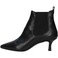 Cipők Női Bokacsizmák Albano 0059 BLACK