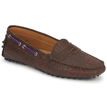 Cipők Női Mokkaszínek Etro MOCASSIN 3706 Lila