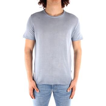 Ruhák Férfi Rövid ujjú pólók Blauer 21SBLUM01319 HEAVENLY