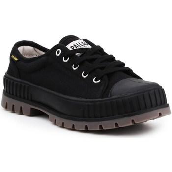 Cipők Férfi Rövid szárú edzőcipők Palladium Manufacture Pallashock OG Fekete