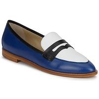 Cipők Női Mokkaszínek Etro MOCASSIN 3767 Kék / Fekete  / Fehér