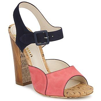 Cipők Női Szandálok / Saruk John Galliano AN3571 Rózsaszín / Tengerész