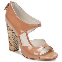 Cipők Női Szandálok / Saruk John Galliano AN6364 Rózsaszín / Bézs