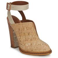 Cipők Női Klumpák John Galliano AN9211 Bézs