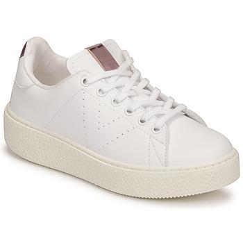 Cipők Gyerek Rövid szárú edzőcipők Victoria TRIBU Fehér