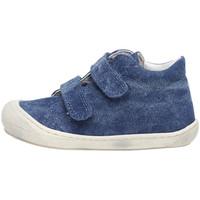 Cipők Gyerek Magas szárú edzőcipők Naturino 2012904 54 Kék