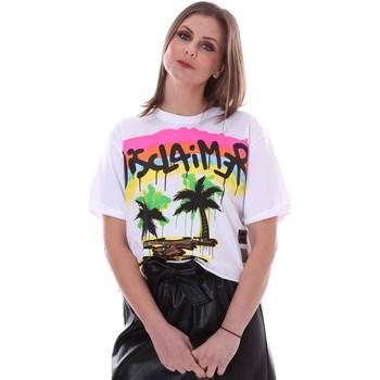 Ruhák Női Rövid ujjú pólók Disclaimer 21EDS50632 Fehér