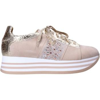 Cipők Női Rövid szárú edzőcipők Grace Shoes MAR010 Bézs